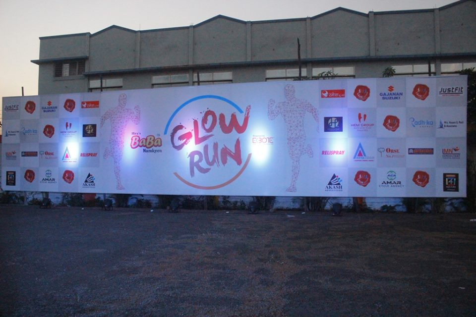 BaBa Namkeen Satara Glow Run